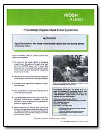 Preventing Organicc Dust Toxic Syndrome by Department of Health and Human Services