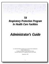 Tb Respiratory Protection Program in Hea... by Rosenstock, Linda, M. D., M. P. H.