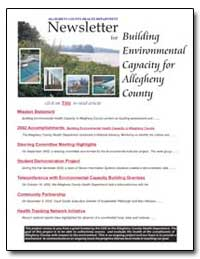Building Environmental Capacity for Alle... by Department of Health and Human Services