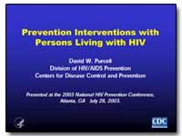 Prevention Interventions with Persons Li... by Purcell, David W.
