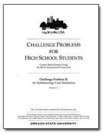 Challenge Problems for High School Stude... by Department of Health and Human Services