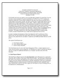 Award Closeout Guidance Grants and Coope... by Department of Health and Human Services