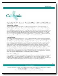California : Expanding People's Access t... by Department of Health and Human Services
