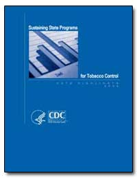Sustaining State Programs for Tobacco Co... by Department of Health and Human Services