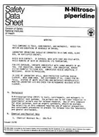 Division of Safety National Institutes o... by Eisenbrand, M. G.