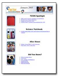 Science Notebook by Department of Health and Human Services