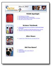 Niehs Spotlight by Department of Health and Human Services