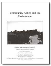 Community Action and the Environment by Department of Health and Human Services
