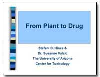 From Plant to Drug by Hines, Stefani D.
