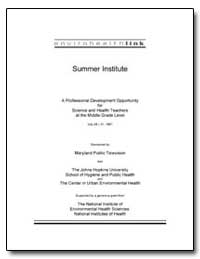 Summer Institute by Department of Health and Human Services