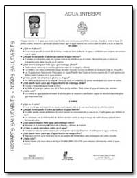 El Agua Interior Es El Agua Que Usted Y ... by Department of Health and Human Services