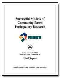 Successful Models of Community-Based Par... by O'Fallon, Liam R.