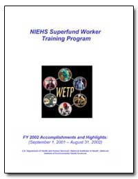 Niehs Superfund Worker Training Program by Department of Health and Human Services