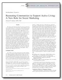 Recreating Communities to Support Active... by Maibach, Edward W.