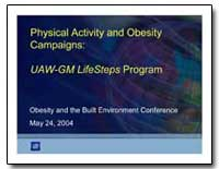 Physical Activity and Obesity Campaigns ... by Department of Health and Human Services