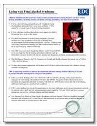 Living with Fetal Alcohol Syndrome by Department of Health and Human Services