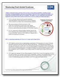Monitoring Fetal Alcohol Syndrome by Department of Health and Human Services