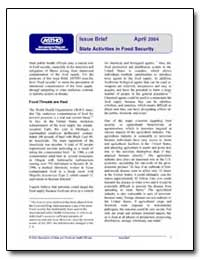 Issue Brief April 2004 State Activities ... by Department of Health and Human Services