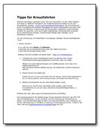 Tipps für Kreuzfahrten by Department of Health and Human Services