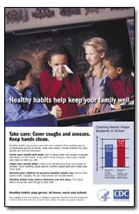 Take Care : Cover Coughs and Sneezes - K... by Department of Health and Human Services