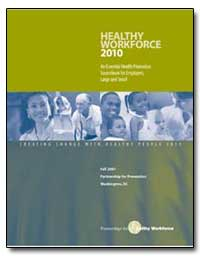 Healthy Workforce 2010 by Department of Health and Human Services