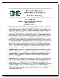 International Council of Chemical Associ... by Department of Health and Human Services