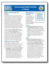 Environmental Health Activities in Kansa... by Department of Health and Human Services