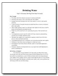 Drinking Water by Department of Health and Human Services