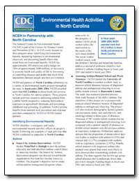 Environmental Health Activities in North... by Department of Health and Human Services