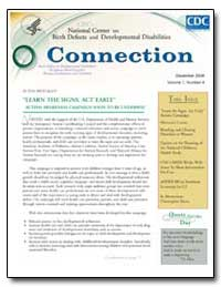 Learn the Signs. Act Early : Autism Awar... by Cordero, José F.