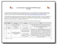 General Information about Nhanes 1999-20... by Department of Health and Human Services