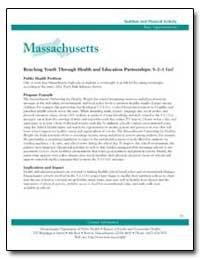 Massachusetts : Reaching Youth through H... by Department of Health and Human Services