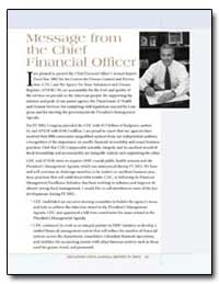 Message from the Chief Financial Officer by Gimson, William