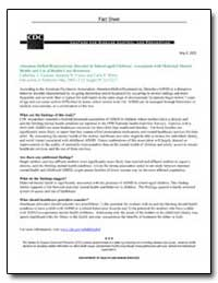 Attention-Deficit/Hyperactivity Disorder... by Department of Health and Human Services