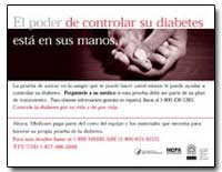 El Poder de Controlar Su Diabetes Esta e... by Department of Health and Human Services
