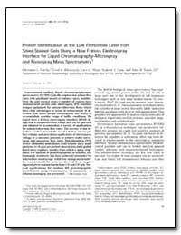 Protein Identification at the Low Femtom... by Gatlin, Christine L.