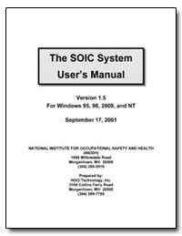 The Soic System User's Manual by Department of Health and Human Services