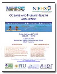 Oceans and Human Health Challenge by Department of Health and Human Services