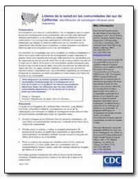 Lideres de la Salud en las Comunidades D... by Department of Health and Human Services