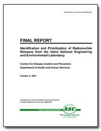 Identification and Prioritization of Rad... by Department of Health and Human Services