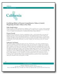 California : Combining Efforts to Promot... by Department of Health and Human Services
