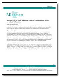 Minnesota : Reaching Out to Youth and Ad... by Department of Health and Human Services