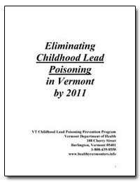 Eliminating Childhood Lead Poisoning in ... by Department of Health and Human Services