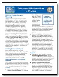 Environmental Health Activities in Wyomi... by Department of Health and Human Services