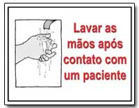 Lavar as Maos Apos Contato Com Um Pacien... by Department of Health and Human Services