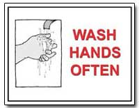 Wash Hands Often by Department of Health and Human Services