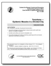 Texarkana — Epidemic Measles in a Divide... by Department of Health and Human Services