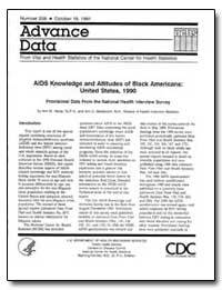 Aids Knowledge and Attitudes of Black Am... by Hardy, Ann M.