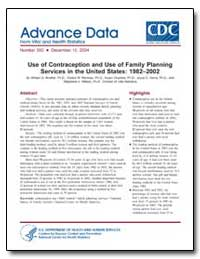 Use of Contraception and Use of Family P... by Mosher, William D.