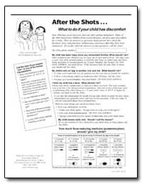 After the Shots What to Do If Your Child... by Department of Health and Human Services